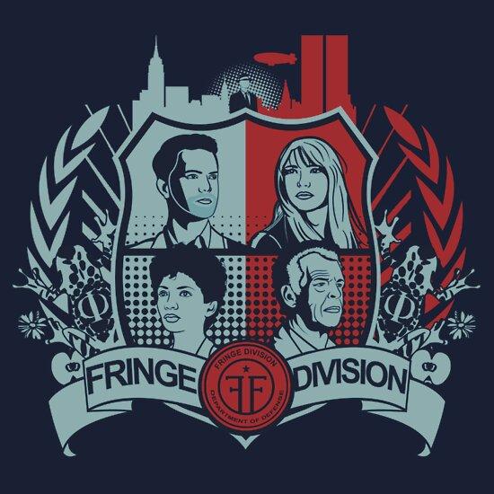 TShirtGifter presents: Fringe Division Crest