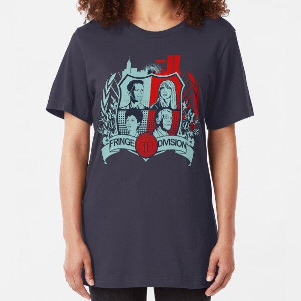 Fringe Division Crest  Slim Fit T-Shirt