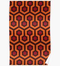 Overlook Hotel Carpet (The Shining)  Poster