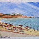 Golden Beach - Paros by Kostas Koutsoukanidis
