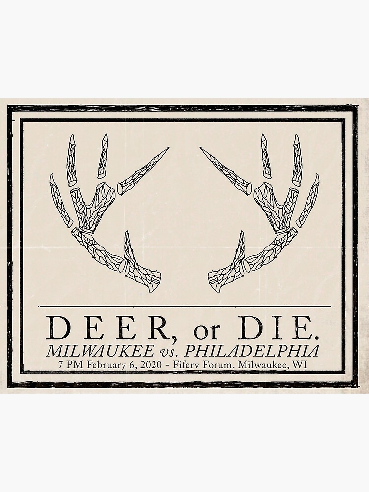 """Deer, or Die."" by AJW3-Art"