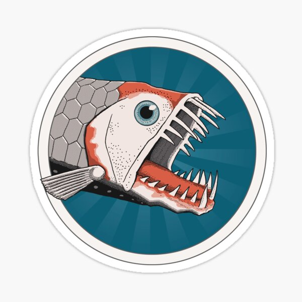 Viperfish Sticker