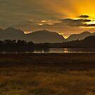 Loch Leven Sunset by Brian Kerr