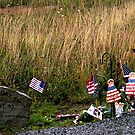 Makeshift Memorial by © Loree McComb