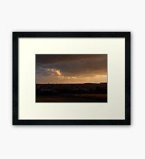 Good Night Beautiful Day! Framed Print