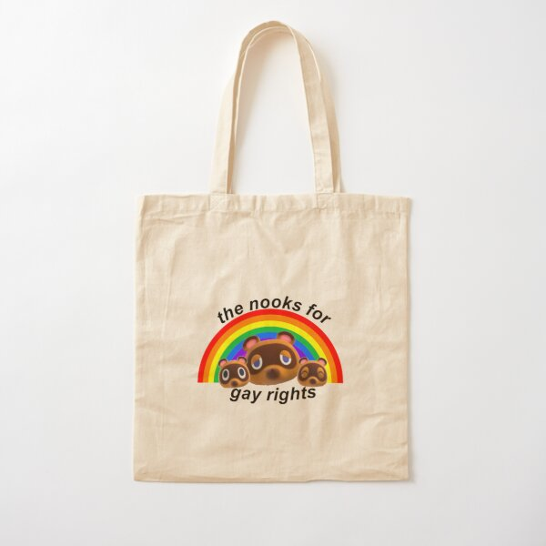 nooks for gay rights Cotton Tote Bag