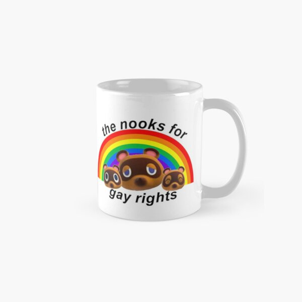 nooks for gay rights Classic Mug