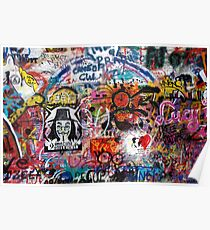 Lennonova Zed (Lennon Wall) Poster
