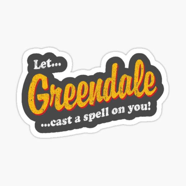 Greendale Sticker