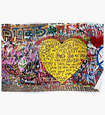 Jonnanova Zed (Jonh Lennon's wall) Poster