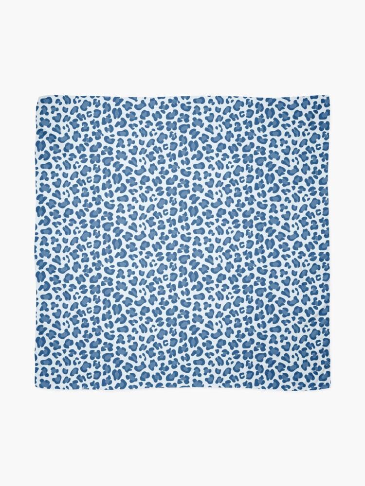 Alternate view of Leopard Print - Classic Blue - Light Scarf