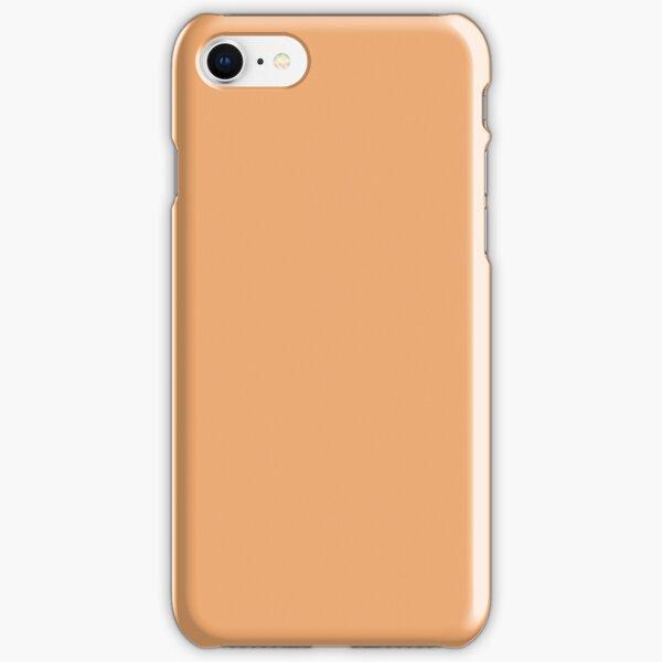 funda iphone color albaricoque