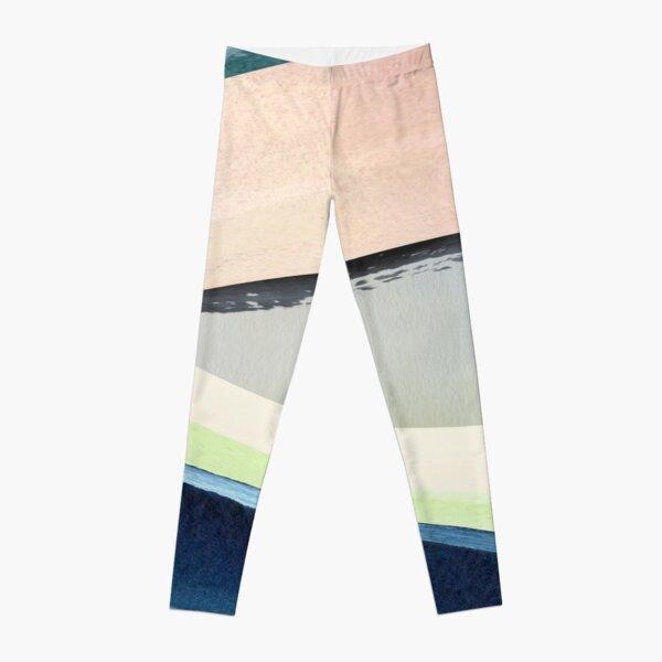 Pastel Abstact Painting Leggings