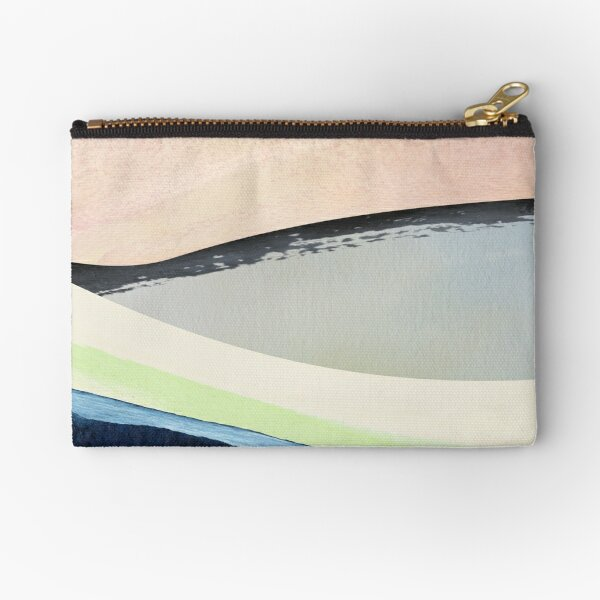 Pastel Abstact Painting Zipper Pouch
