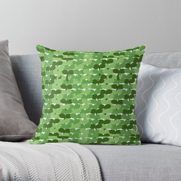 Sprout duplicate Throw Pillow