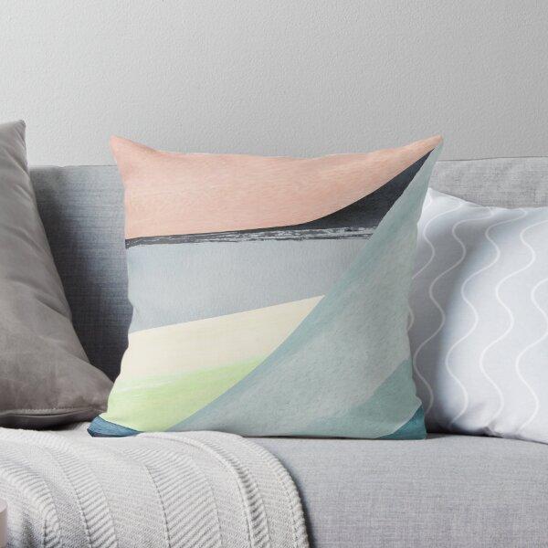 Modern Minimalist Abstract Throw Pillow