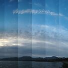 Clouds over Cuil Bay, looking West by cuilcreations