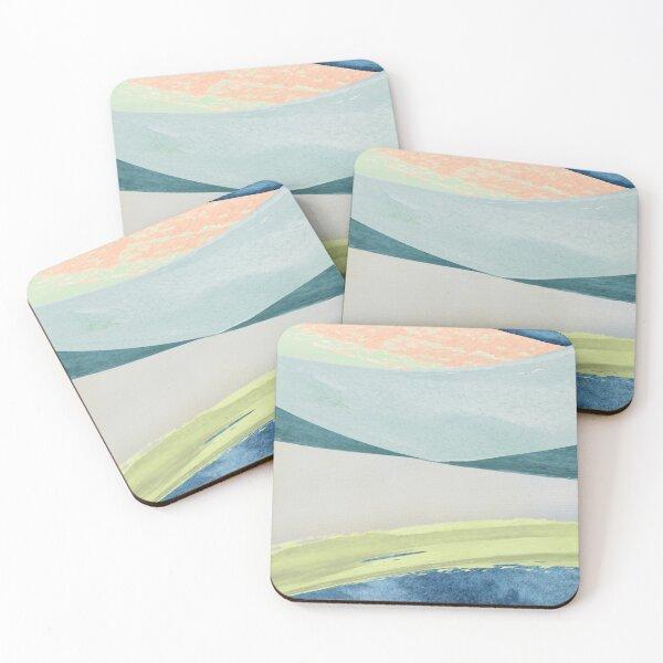 Contemporary Minimalist Pattern Coasters (Set of 4)