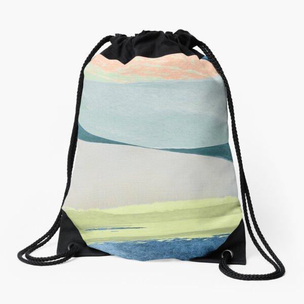 Contemporary Minimalist Pattern Drawstring Bag