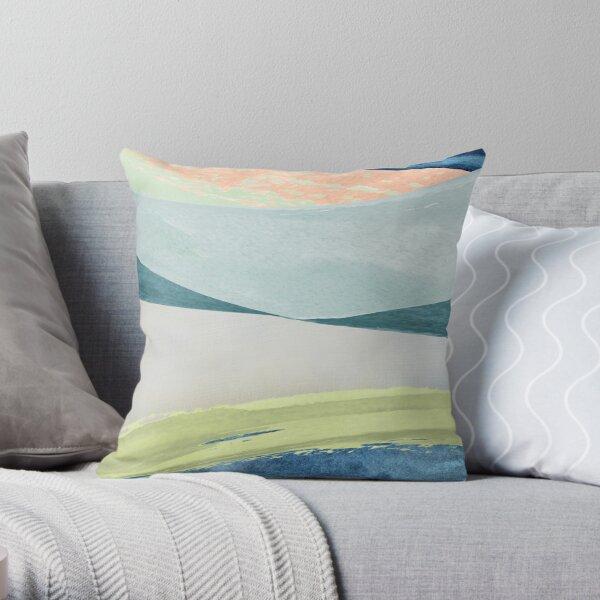 Contemporary Minimalist Pattern Throw Pillow