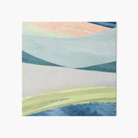 Contemporary Minimalist Pattern Art Board Print