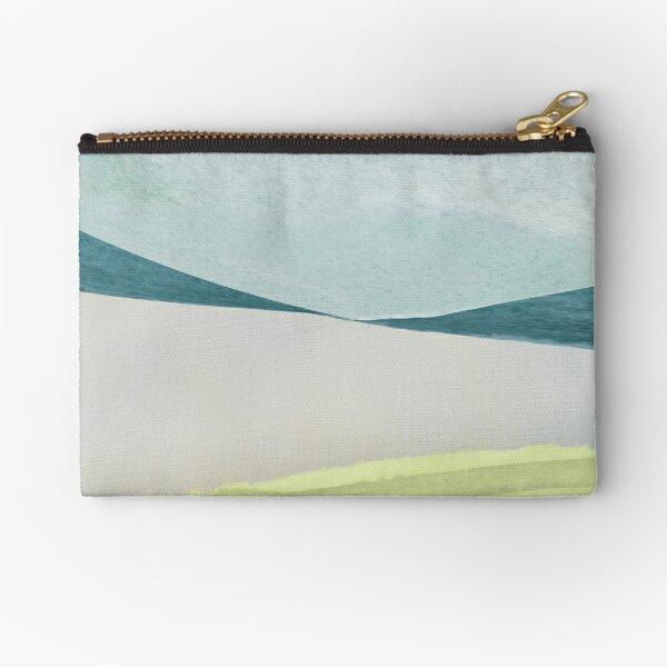 Contemporary Minimalist Pattern Zipper Pouch