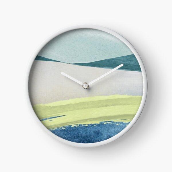 Contemporary Minimalist Pattern Clock