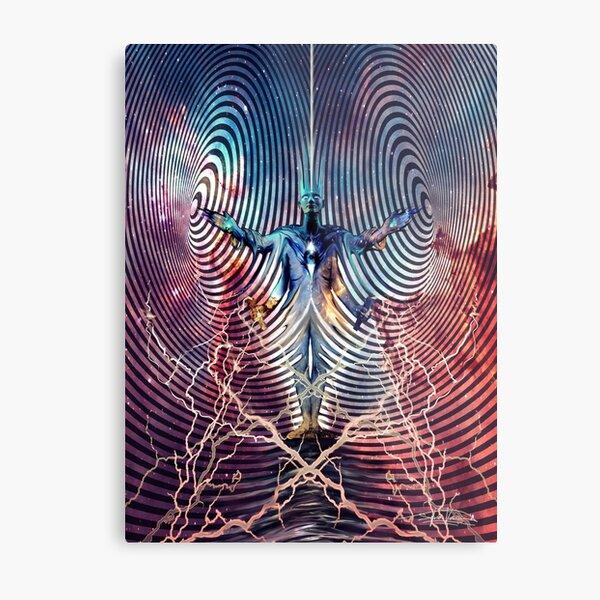 Electromagnetic Spectrum Metal Print