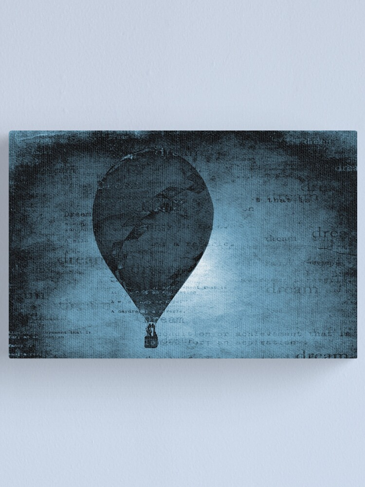 Alternate view of Flying in a Blue Dream Canvas Print