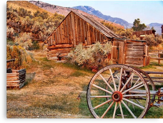 Bannack, Montana (USA) by rocamiadesign