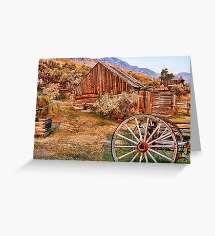 Bannack, Montana (USA) Greeting Card