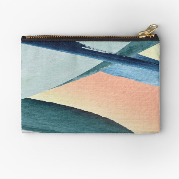 Modern Colorful Design Zipper Pouch