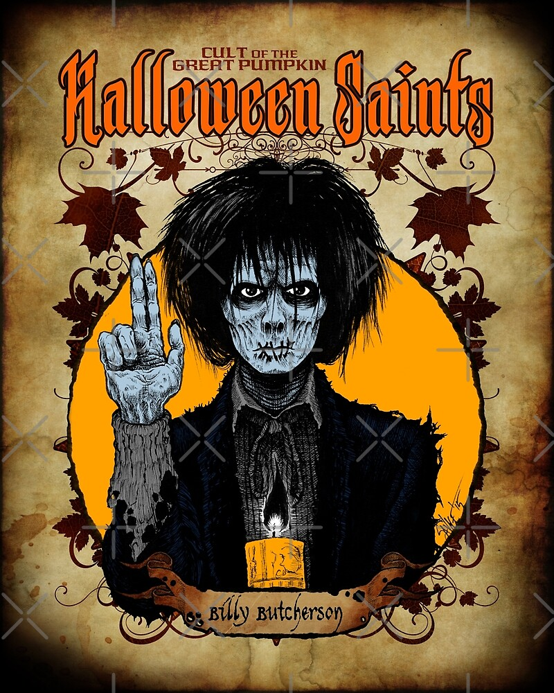Halloween Saints: Billy Butcherson by Chad Savage