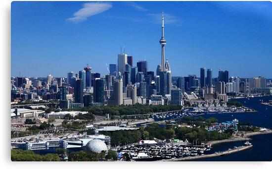 Toronto Ontario Canada skyline by Eros Fiacconi (Sooboy)