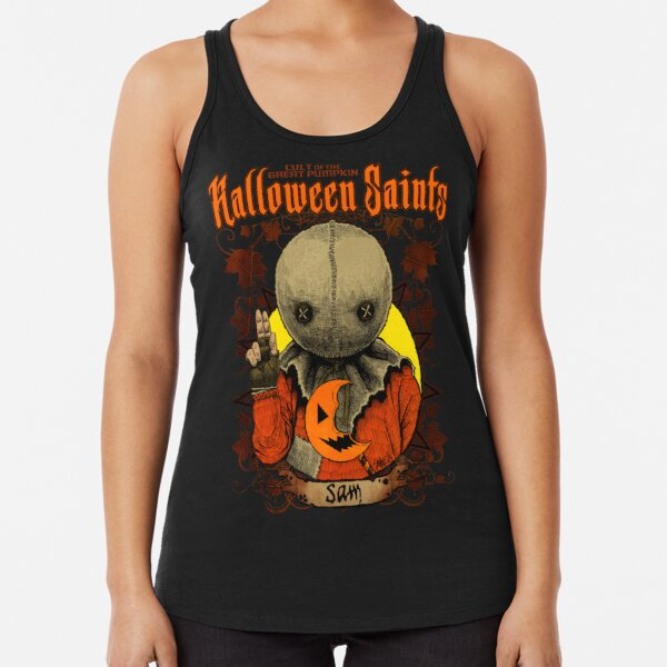Halloween Saints: Sam Racerback Tank Top