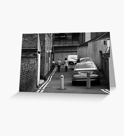 Back Streets Greeting Card