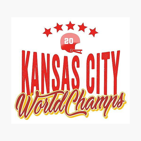 KC Face mask Kansas City facemask KC Kansas City Football Red Vintage Gear Unique Kansas City Champs Design 2020 Photographic Print
