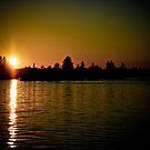 Peavey Sunset by Thomas Sielaff