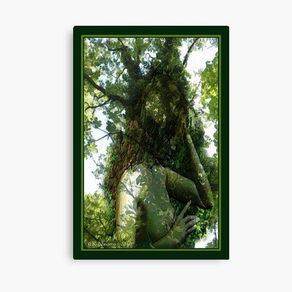 Dryad Tree Green Leaf Forest  Goddess Gothic Mythical