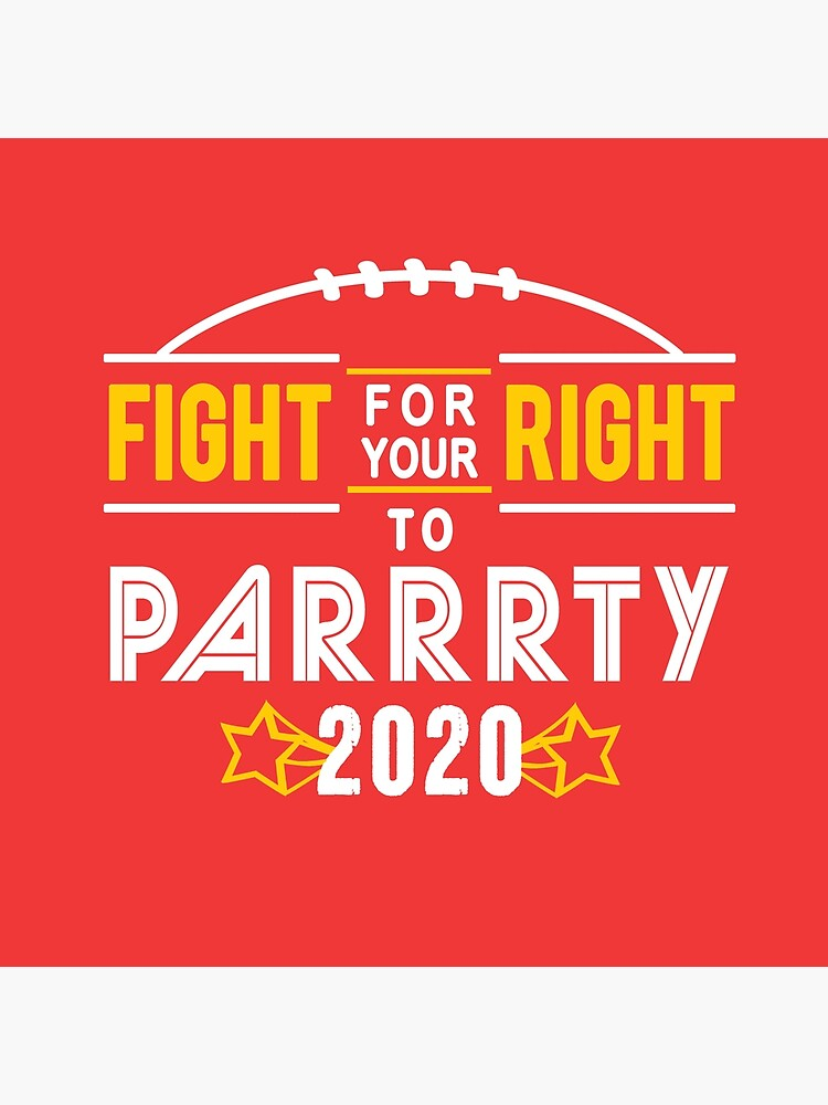 KC Face mask Kansas City facemask Kansas City Fight For Your Right 2020 Kansas City red kingdom football cool graphic design by kcfanshop