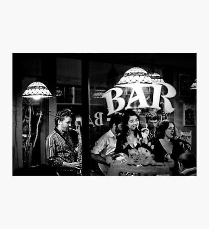 Jazz bar Photographic Print