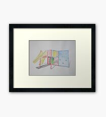 Play Equipment Framed Print