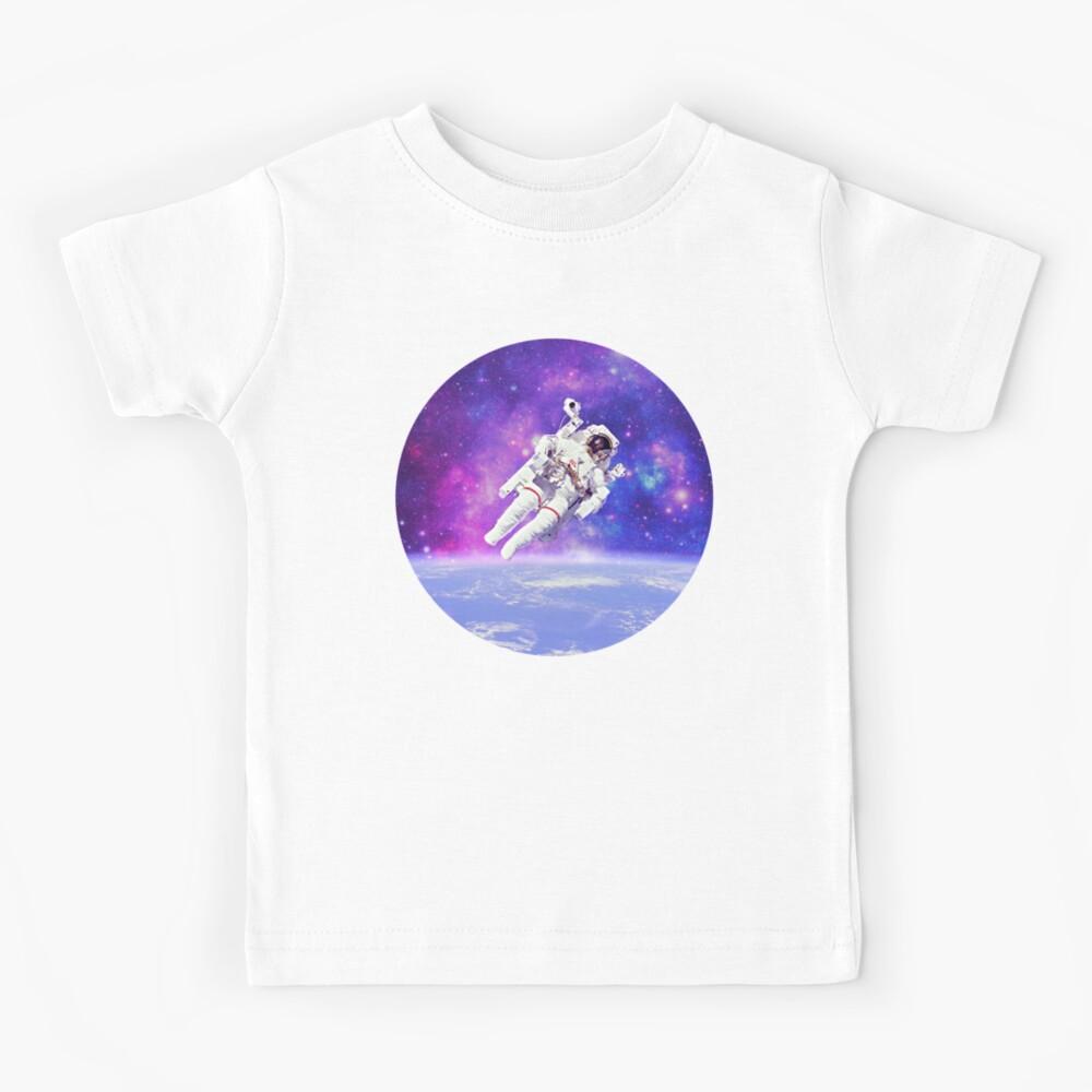 Fishing Astronaut T Shirt Space Spaceman 34 Sleeve Raglan Kids Baby One Piece Wanderlust Tshirt Milky Way Galaxy Baseball Tee Adult