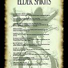 The House of Cthulhu ~ Elder Spirits Menu by Rayvn Navarro