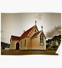 St Mary's Anglican Church, Mamaranui. Poster