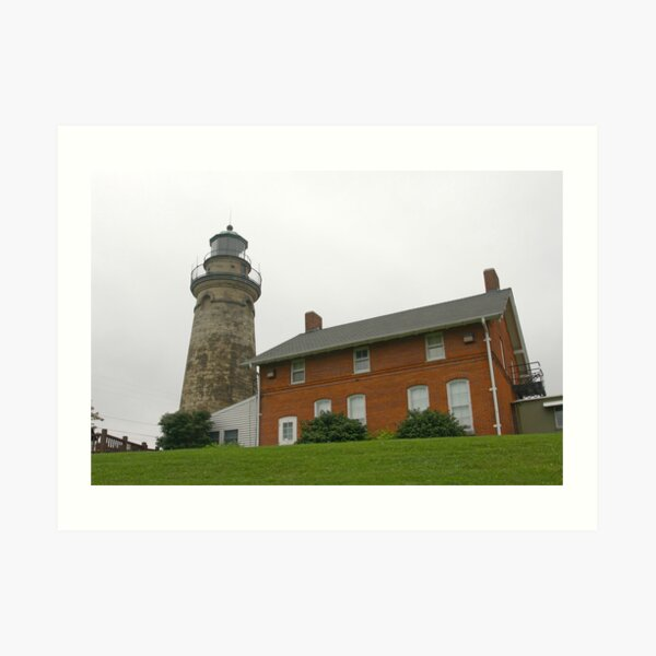 Grand River Lighthouse Art Print