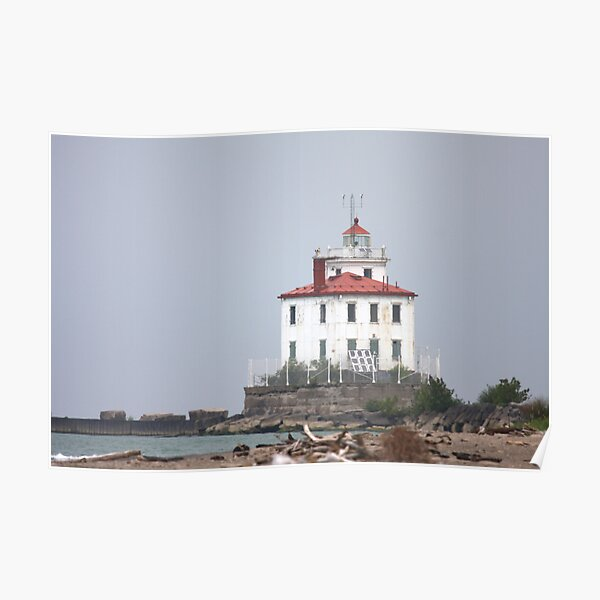Fairport Harbor West Breakwater Lighthouse Poster