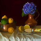 Blue Hydrangea by margo