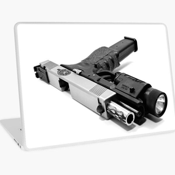 Custom Gun Laptop Skin