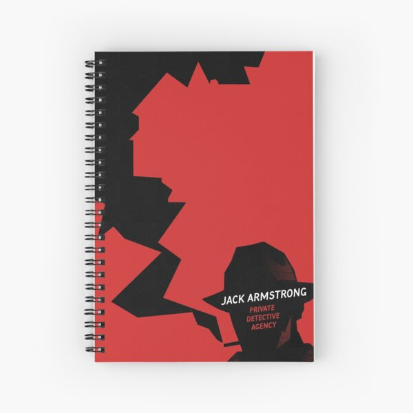 Jack Armstrong Spiral Notebook
